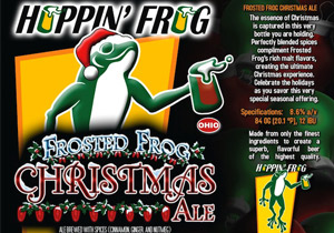 Barrel Aged Frosted Frog Christmas Ale