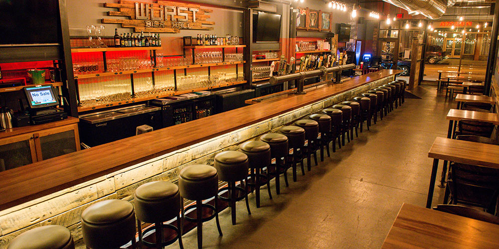 Wurst Bier Hall, North Dakota