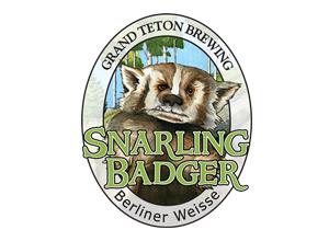 Grand Teton Snarling Badger