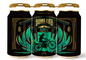 Burnt City Retrofit Lime Radler