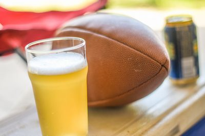 Tailgate Beer Football cooler