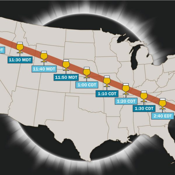 10 Breweries with a Great View of the Solar Eclipse