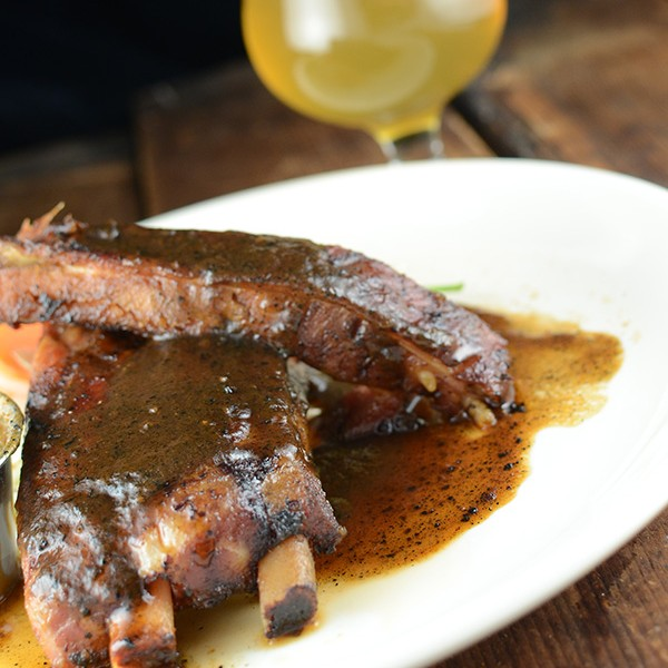 Malted and Hopped Baby-Back Ribs