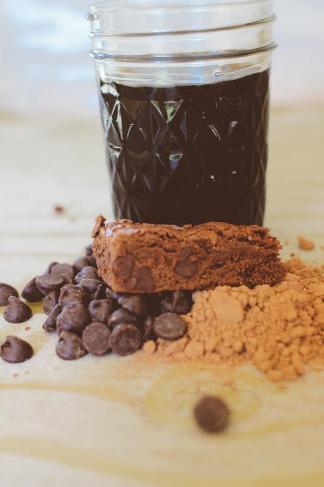 molé brownies