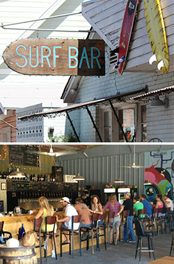 Top: Surf Bar Bottom: Holy City Brewing