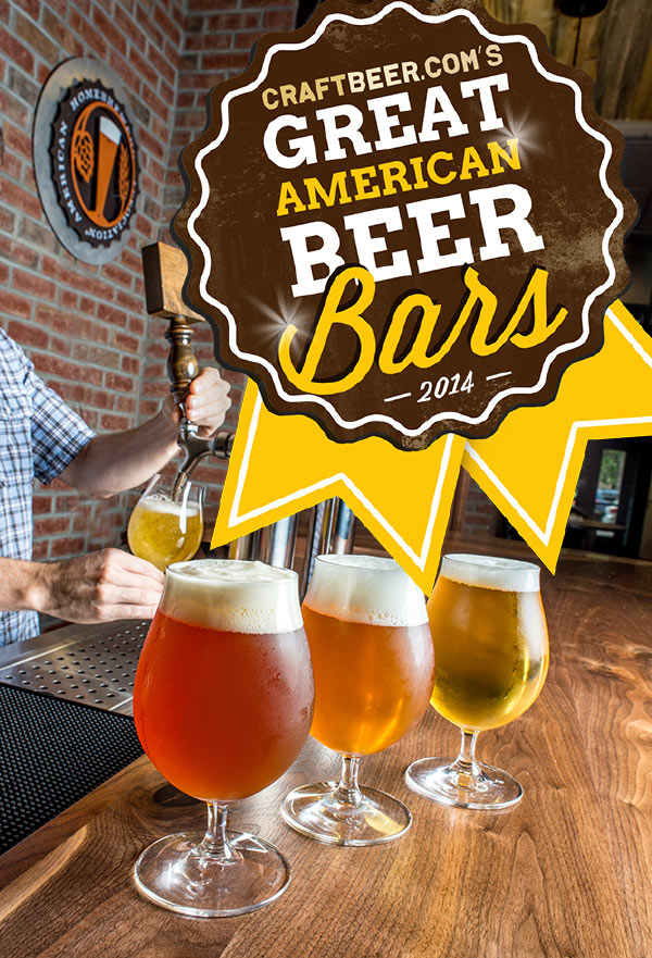 2014 Great American Beer Bar Winners