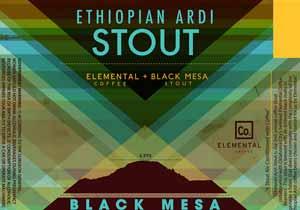 Black Mesa Ethiopian Ardi Stout