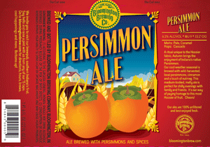 Bloomington Brewing Persimmon Ale