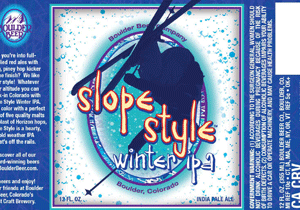 Slope Style Winter IPA