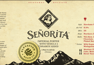 Elevation Beer Co. Señorita