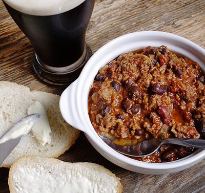 Craft Beer and Chili