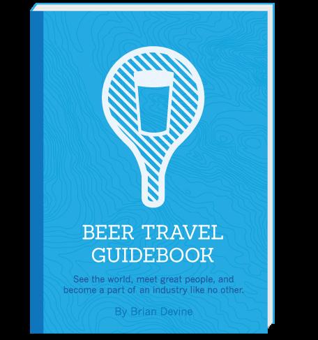Beer Travel Guidebook by Brian Devine