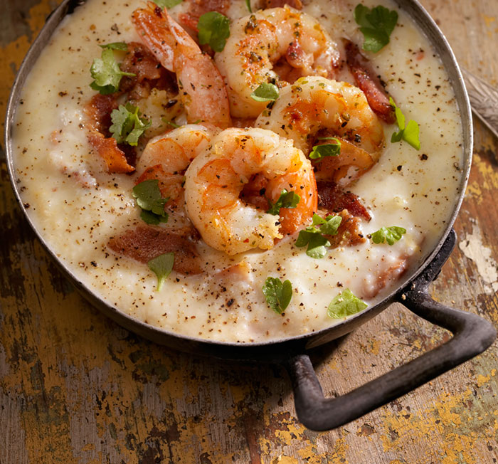 shrimp and grits bacon recipe craft beer