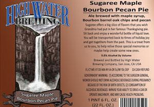 Sugaree Maple Bourbon Pecan Pie