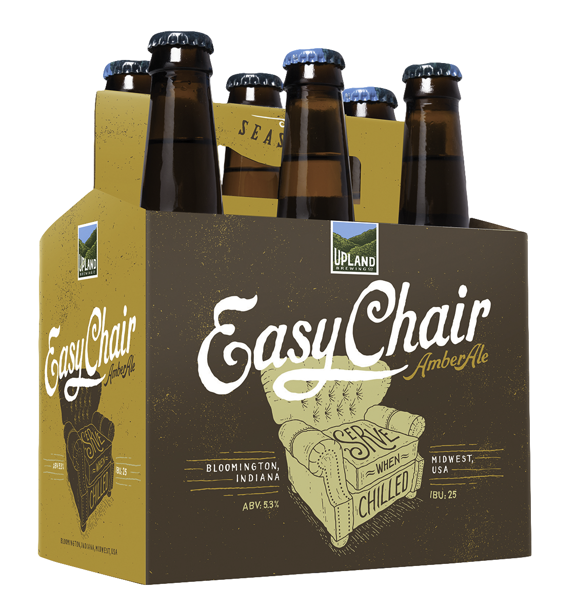 upland easy chair amber