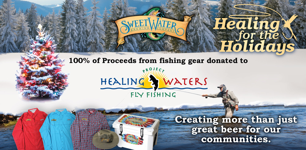 Sweetwater brewing co 39 s black friday and cyber monday for Black friday fishing deals