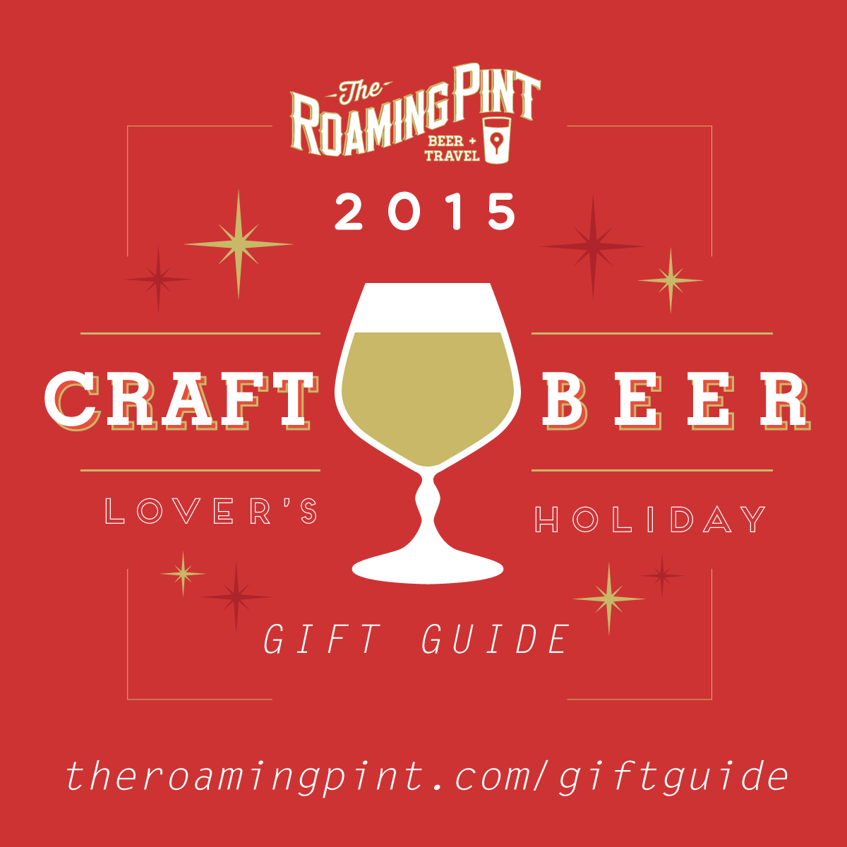 2015 Craft Beer Lover's Holiday Gift Guide from The Roaming Pint
