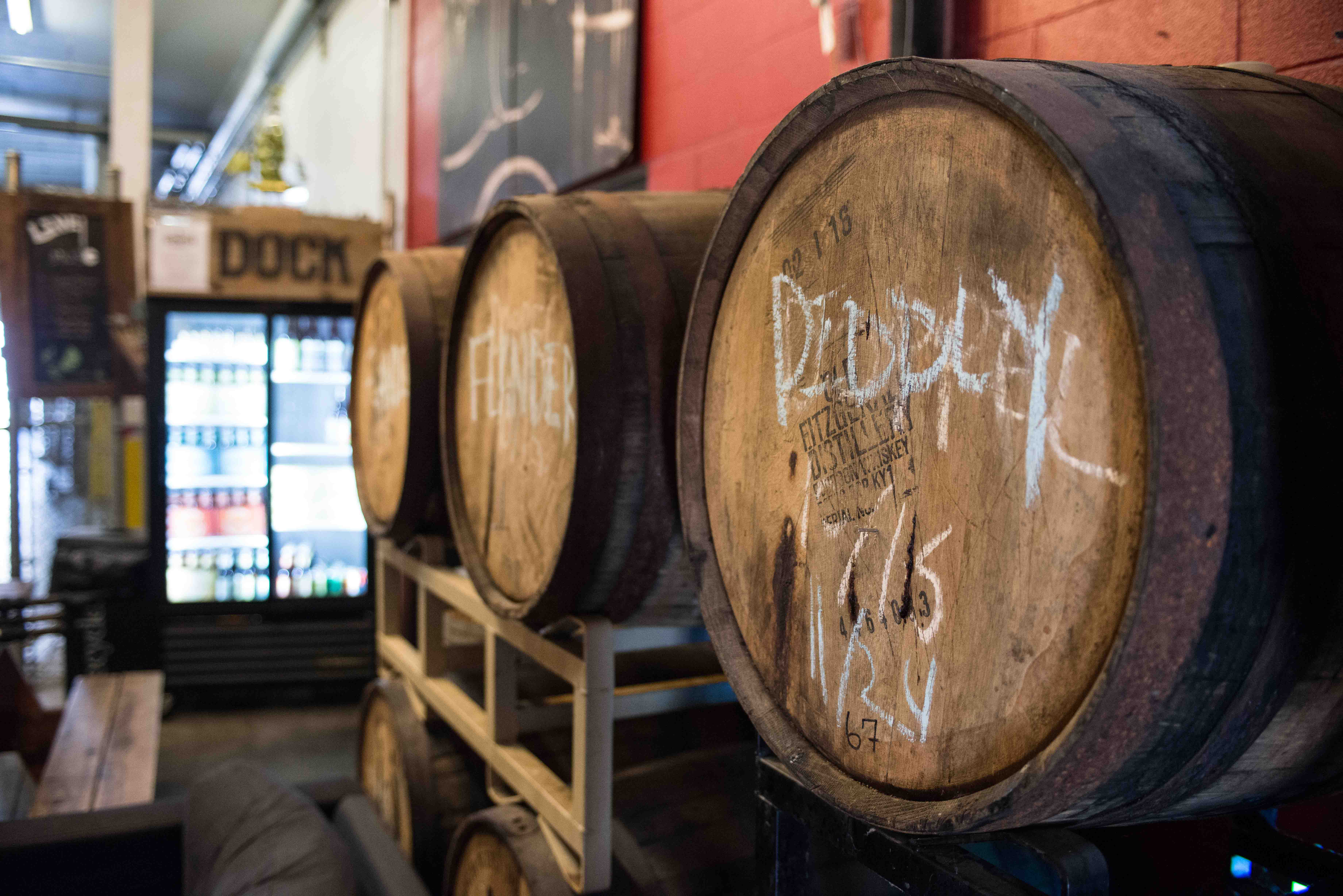 Barrel-aged beer, sours, bourbon