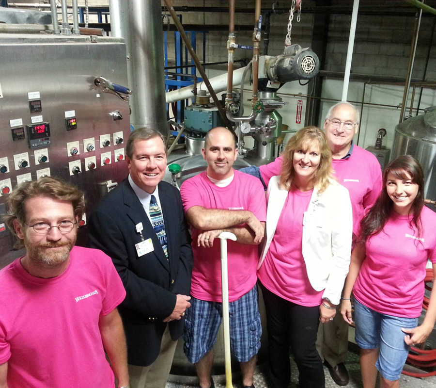 Weyerbacher Brews Althea for Breast Cancer Awareness