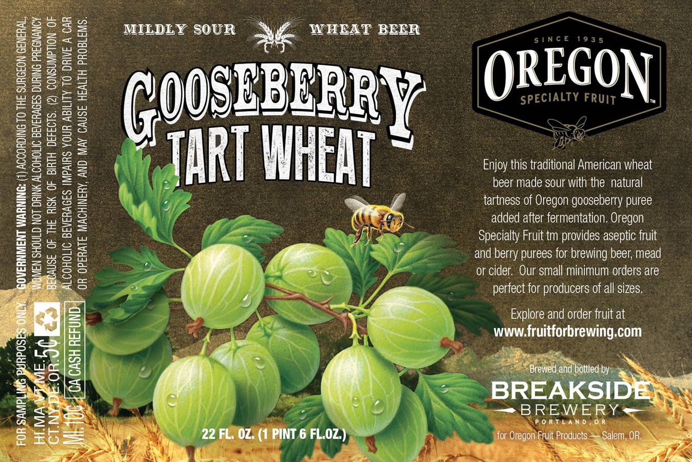Oregon Fruit Products collaborates with Breakside Brewery
