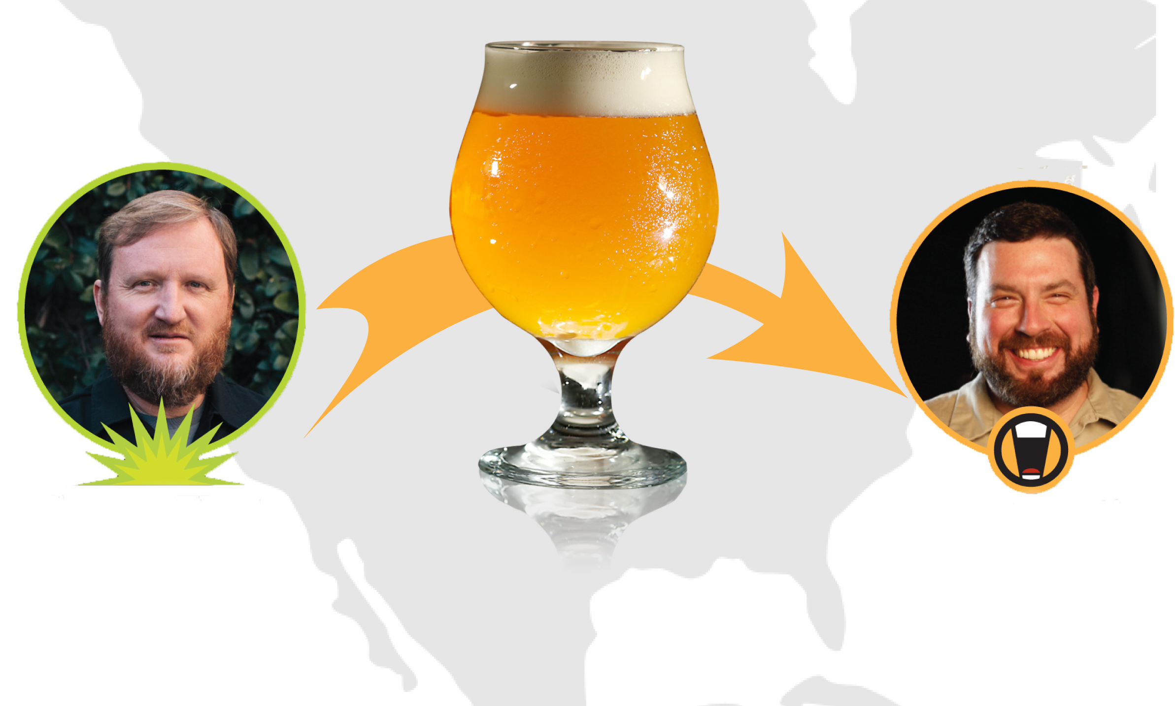 how to make beer green