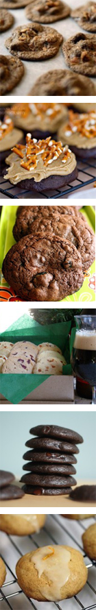 Chocolate Chip Cookies with Bacon, Beer and Cayenne