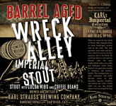 Barrel-aged Wreck Alley Imperial Stout | Karl Strauss Brewing Company