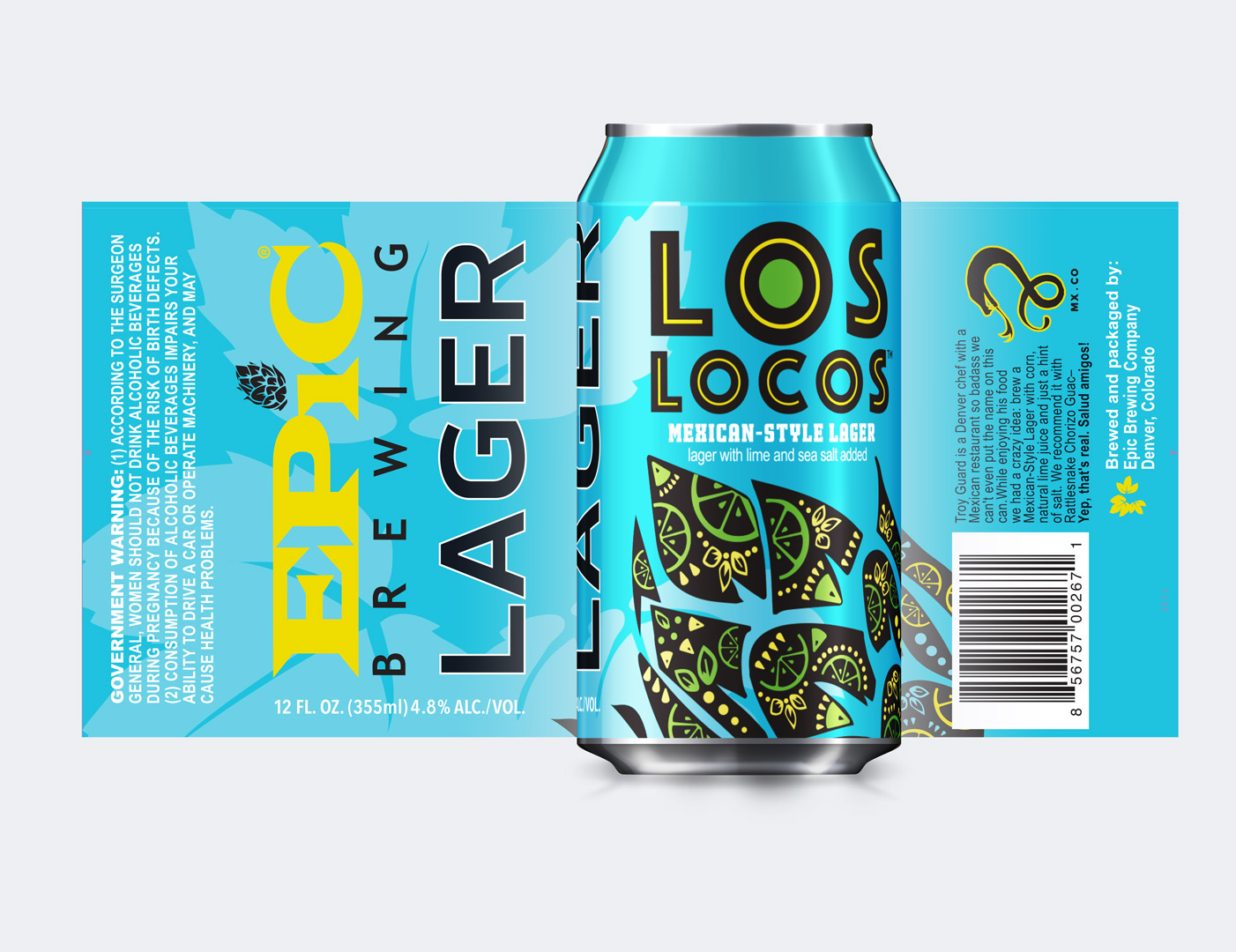 Image result for los locos mexican lager