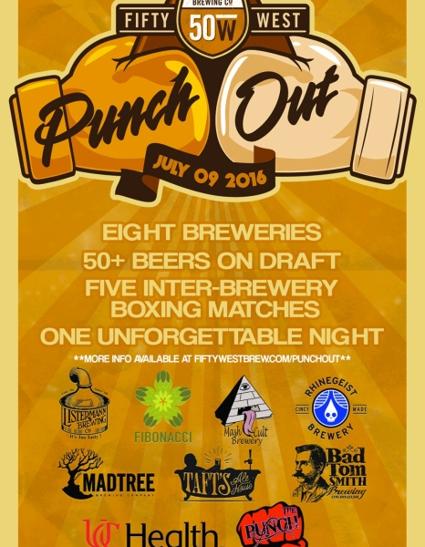 Fifty West Brewing Punch Out