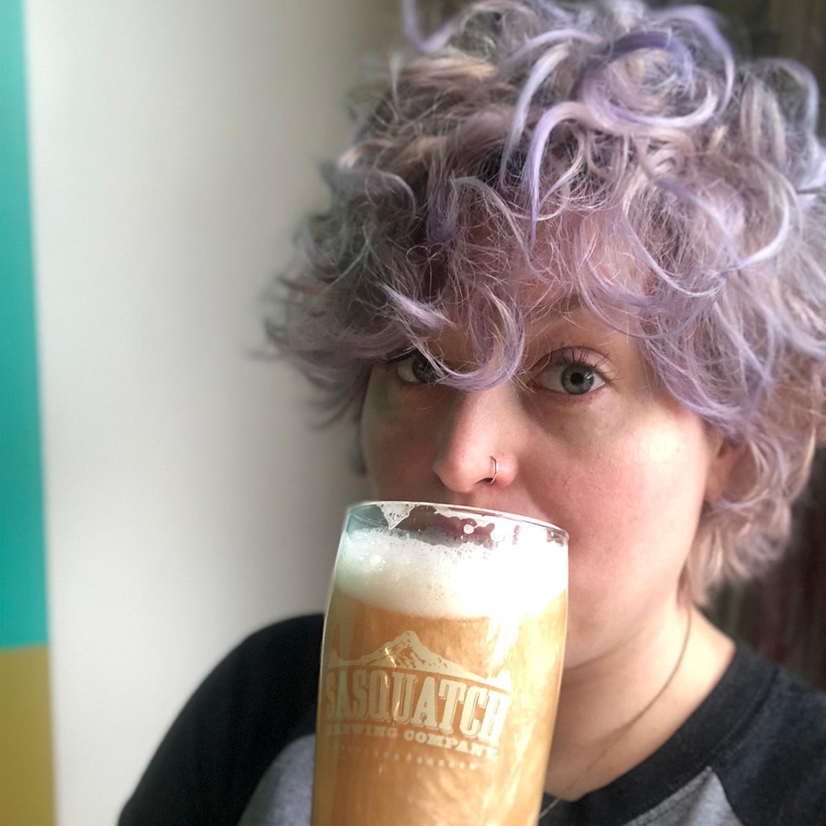 glitter beer