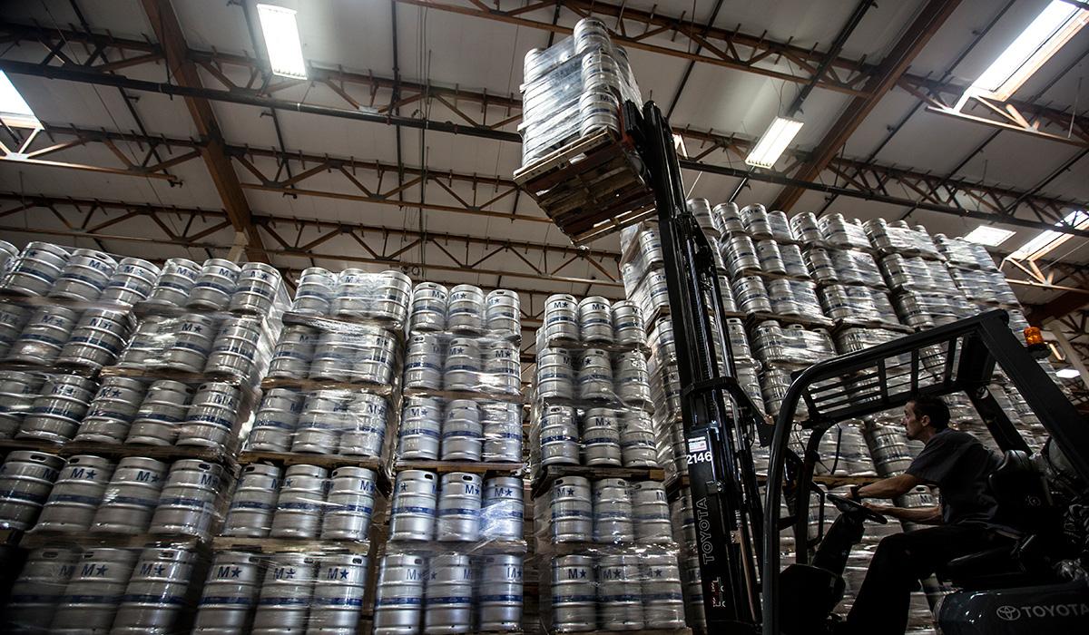 stray beer kegs