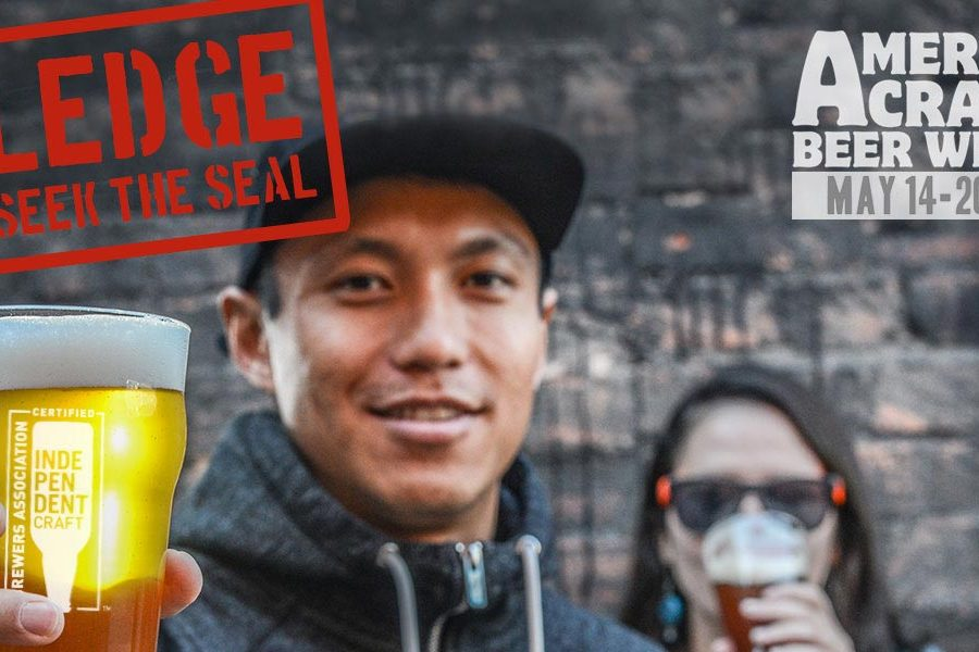 pledge to seek the seal american craft beer week