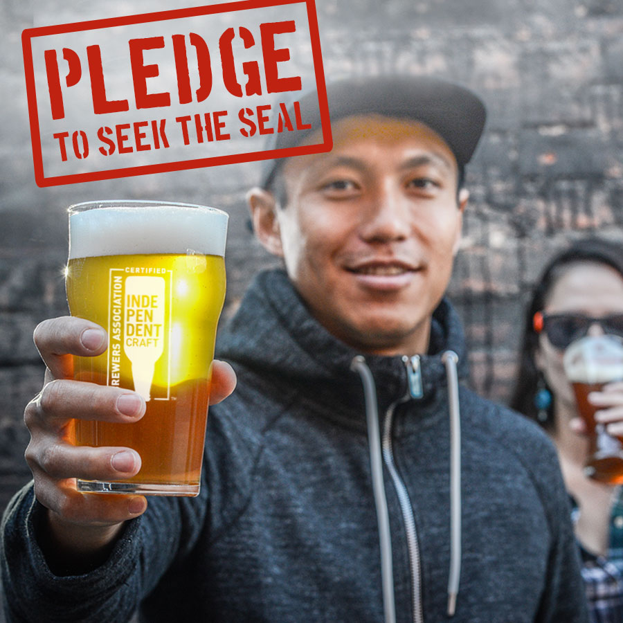 pledge to seek the seal american craft beer week