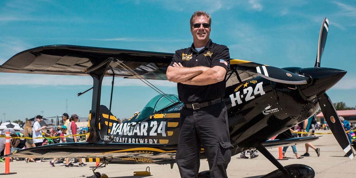 Jon melby hangar 24 pilot