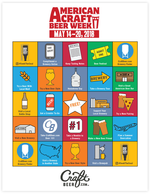 American Craft Beer Week Ideas