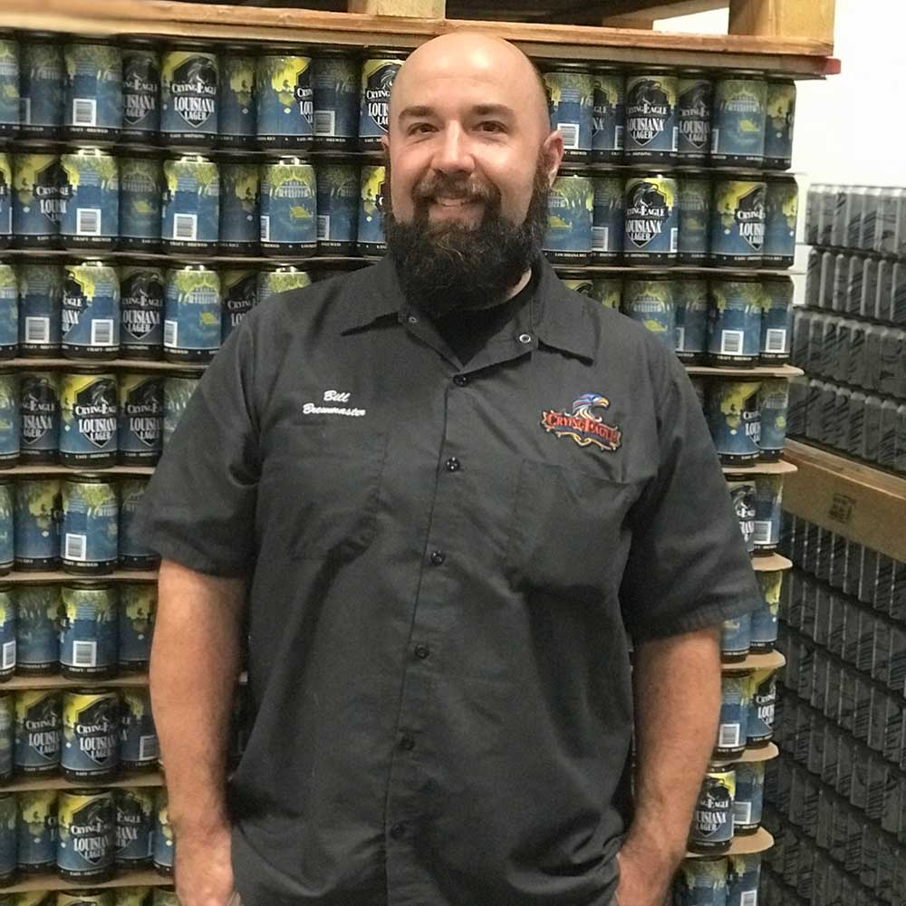 Crying Eagle Brewing brewmaster Bill Mungai
