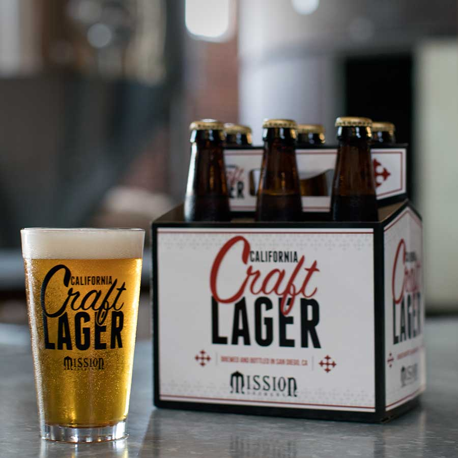 craft lager mission brewery