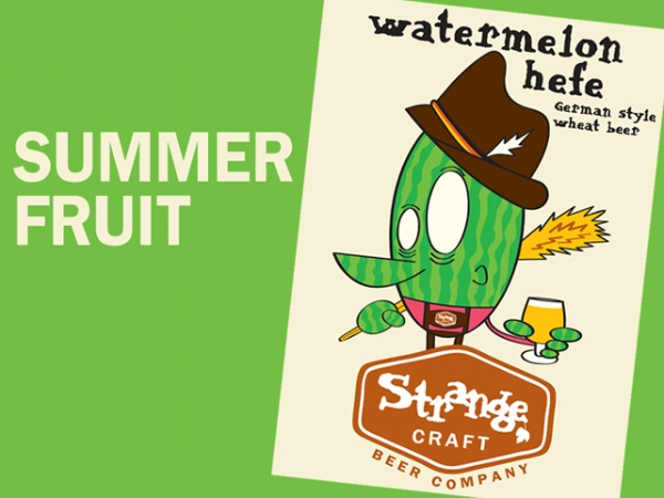 Strange craft beer co to release watermelon hefe on july 4 for Strange craft beer company