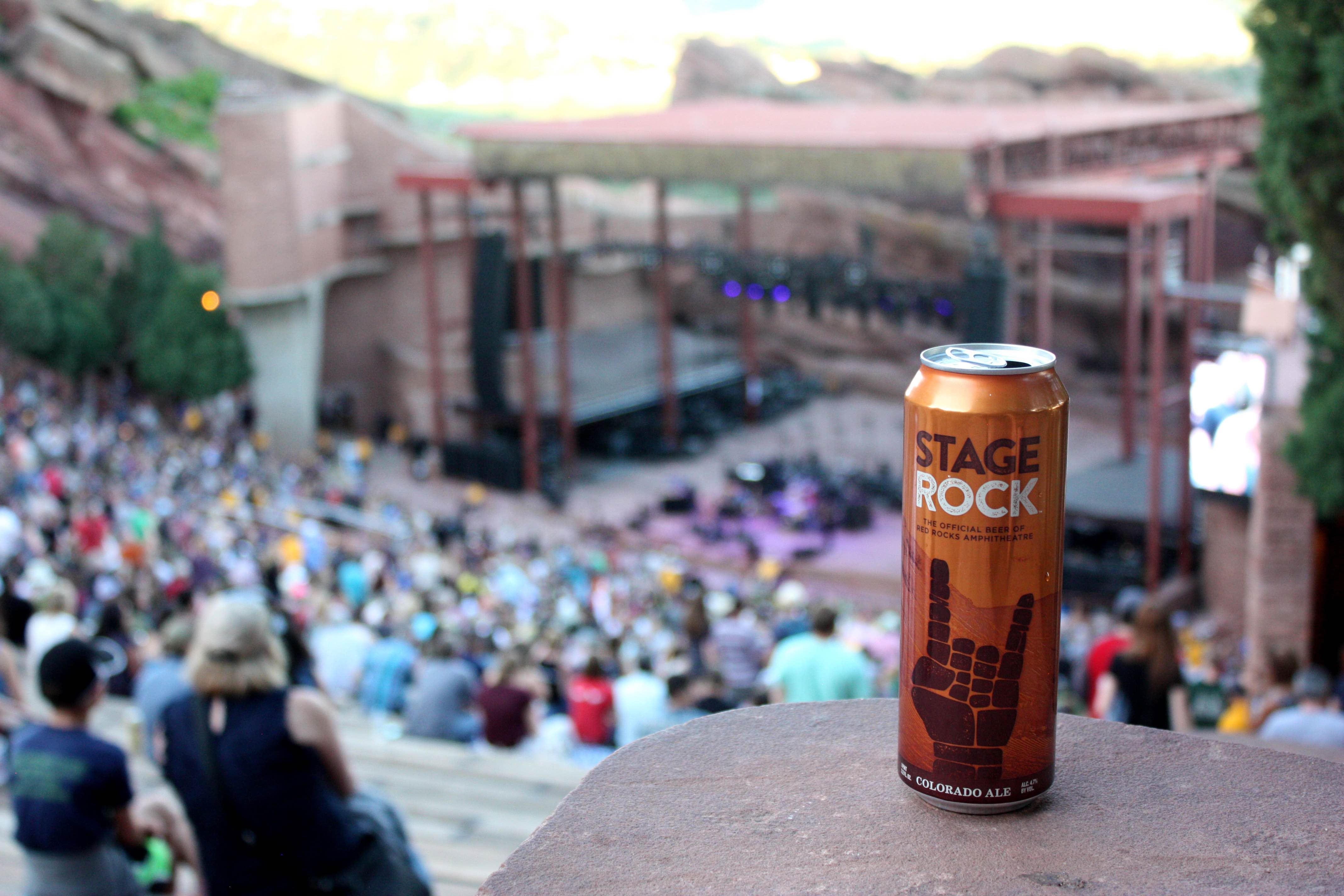 new belgium brewing named the official craft brewer of red rocks