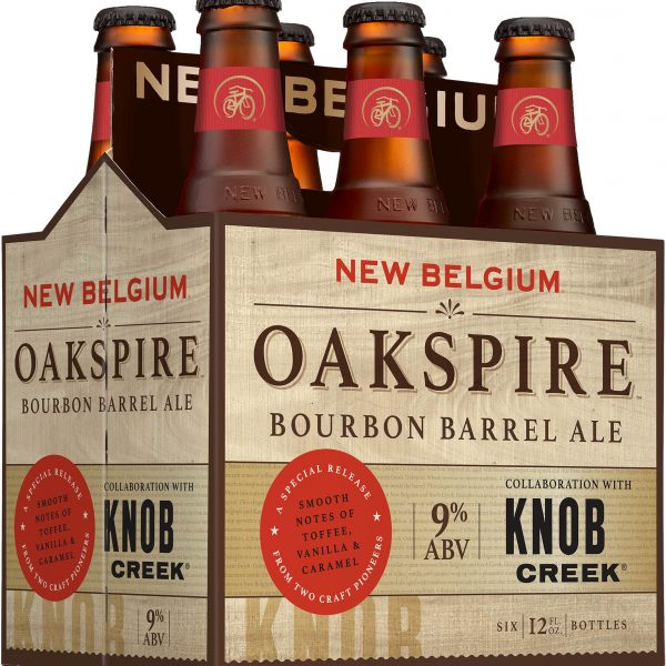 New Belgium And Knob Creek Introduce Oakspire Bourbon Barrel Ale