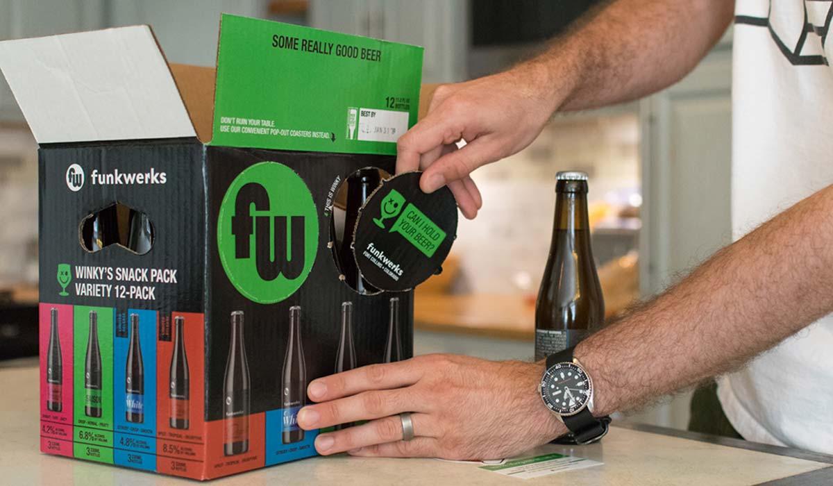 variety beer packaging