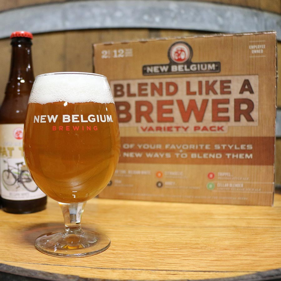 New Belgium's Blend Like a Brewer