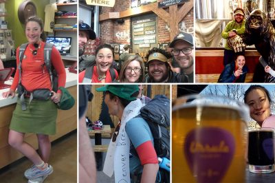 Hiking 100 miles to all Denver's breweries