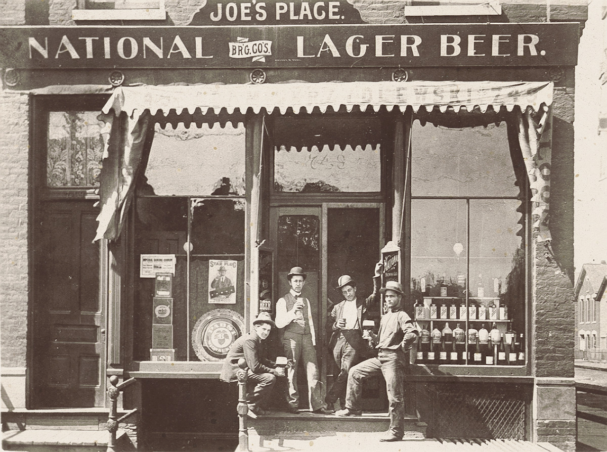 Lager beer history