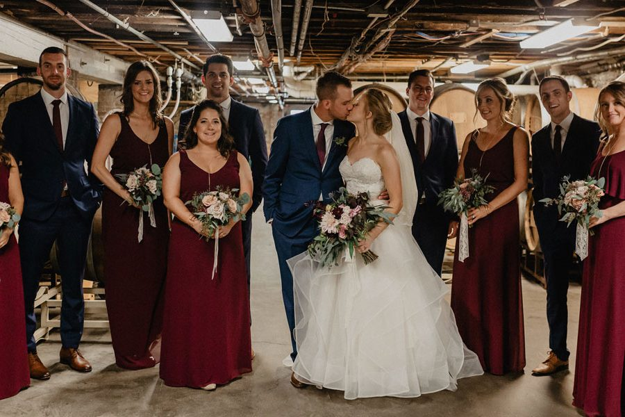 Browns Brewing Company Wedding