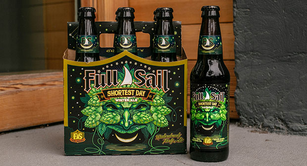Celebrate to the Winter Solstice with the return of Full Sail's Shortest Day