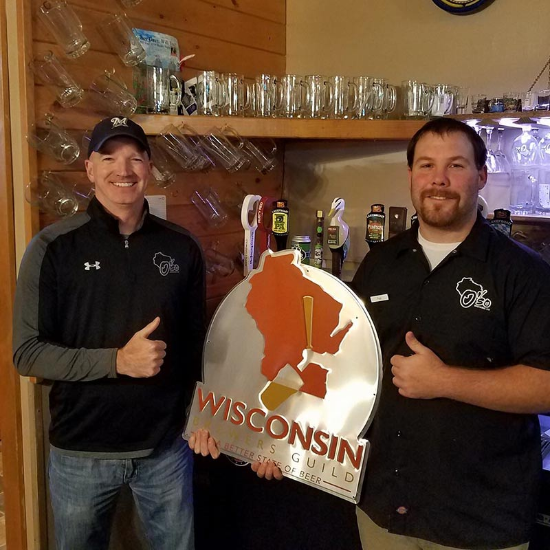 Wisconsin Brewers Guild Signs