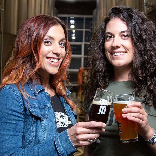 marble brewery Barbie Gonzales & Geraldine Lucero
