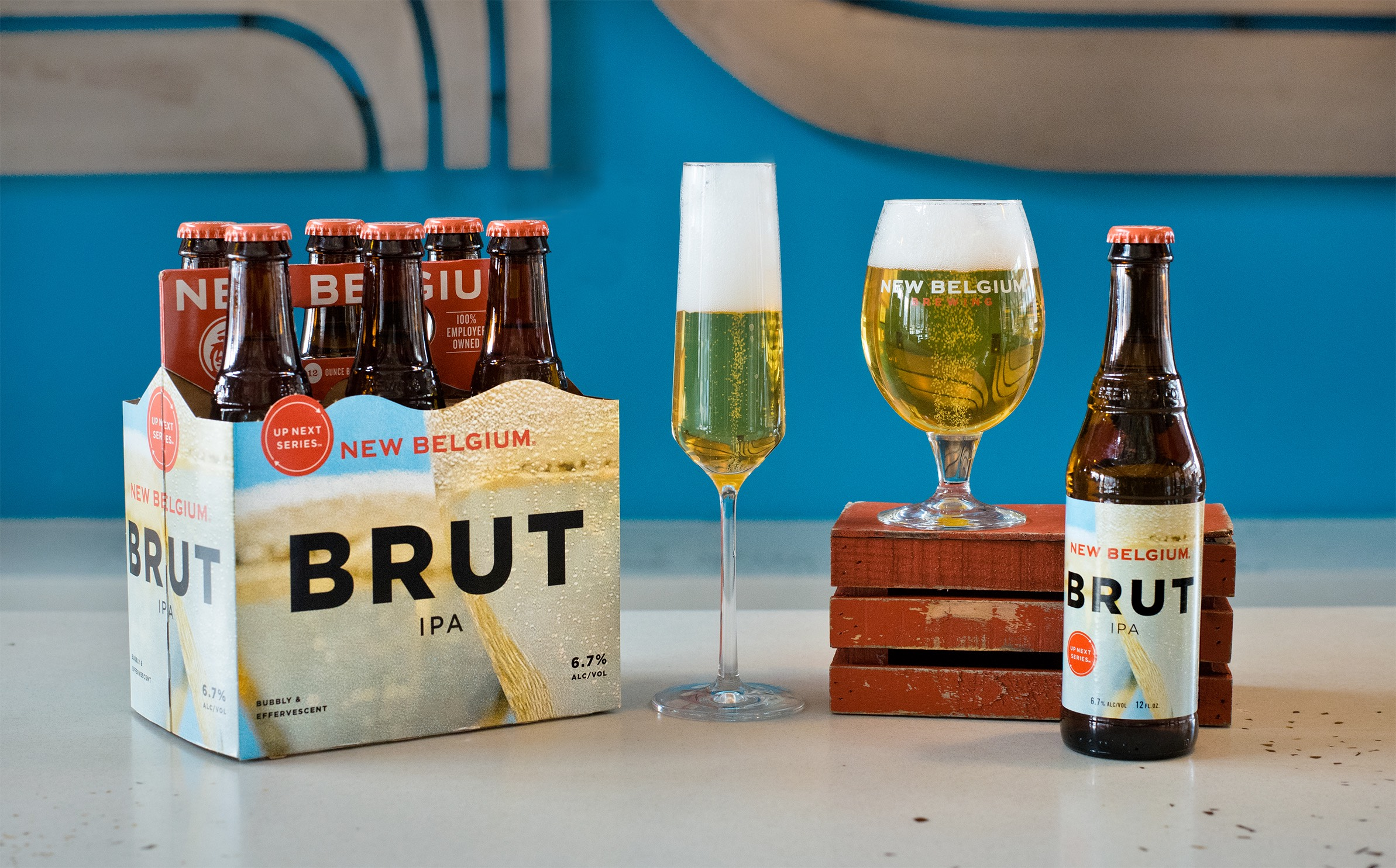 New Belgium Brewing Launches Up Next Rotator Series With Brut Ipa