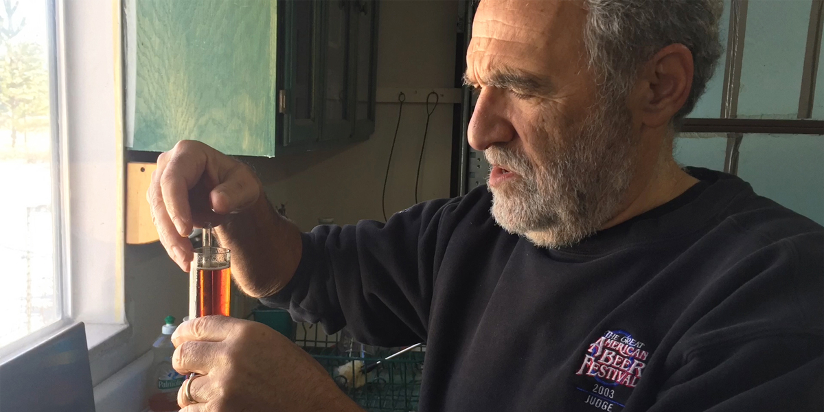 Charlie Papazian Brewing a Porter for the Smithsonian